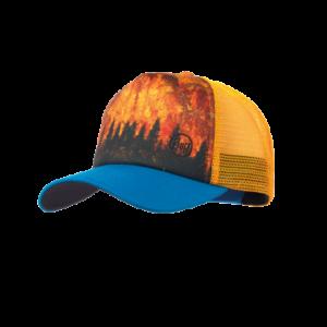 BUFF® TRUCKER CAP LAKE REFLEX DARK BROWN