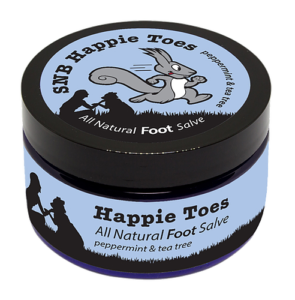Squirrel's Nut Butter Happie Toes (114ml)